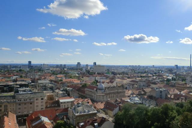 クロアチアの小さな首都、ザグレブ