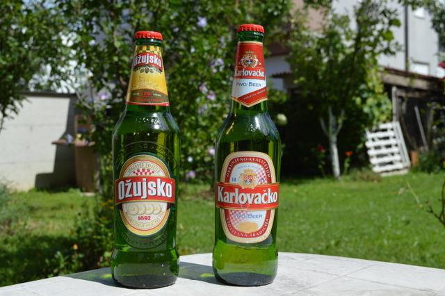 オジュイスコビールが飲めるのはクロアチアだけ!