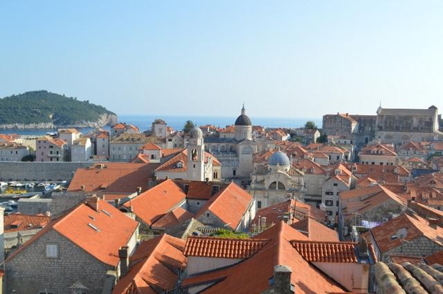 世界遺産の街、ドブロブニク