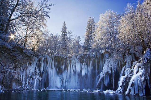 雪に包まれるプリトヴィッツェ
