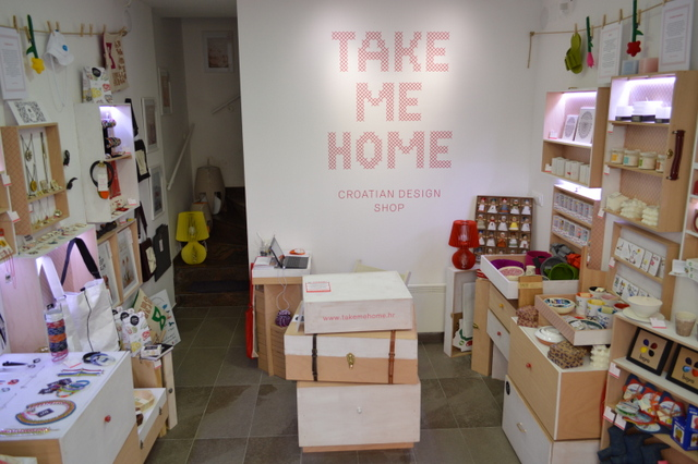 店内にはクロアチア中から集められたデザイナー雑貨がずらり!どれもお家につれて帰りたくなる可愛さです。