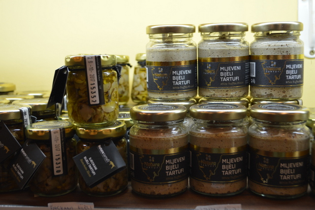 クロアチアはトリュフ製品が豊富!
