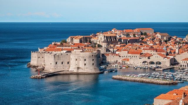 クロアチアの観光都市では難民の影響は見られません