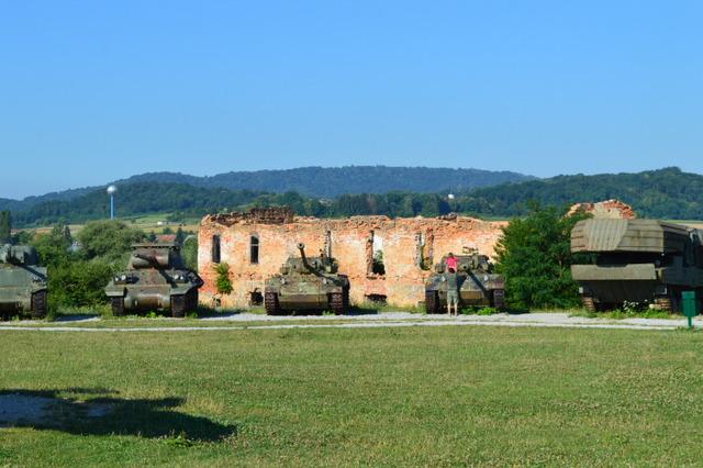 カルロバッツの「野外戦争博物館」