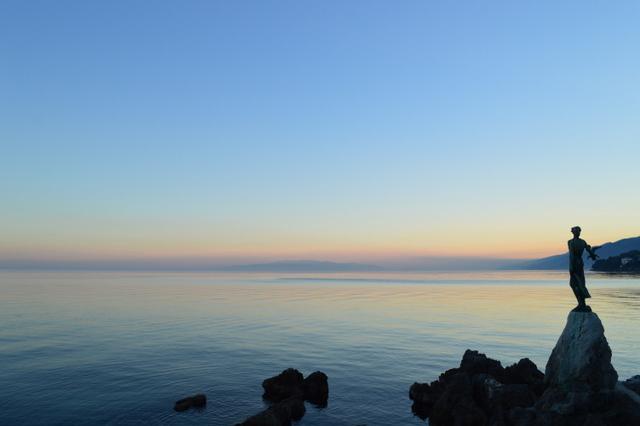 イストラのアドリア海は、ダルマチアとはまた違った魅力があります