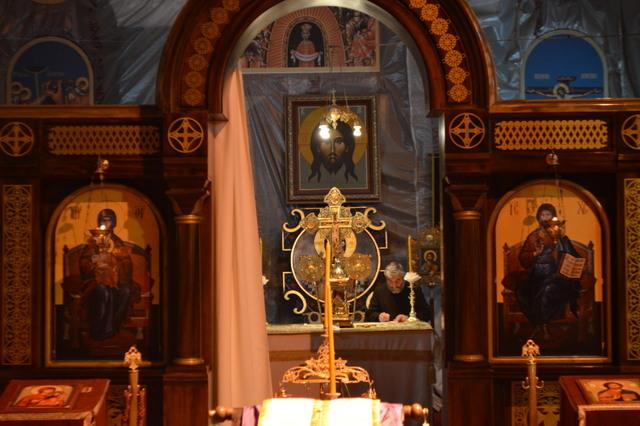 聖サヴァ教会の内部