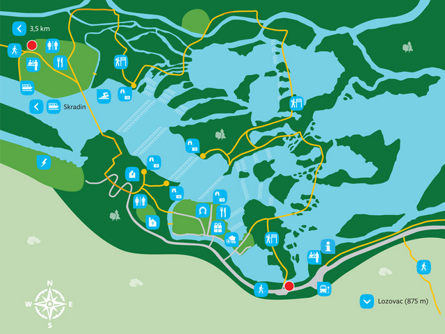 krka map