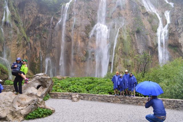 夏場でも雨が降るとかなり冷え込むプリトヴィッツェ